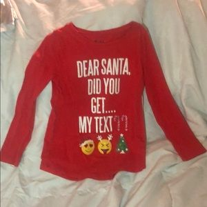 Set of 3 Girls Christmas Shirts
